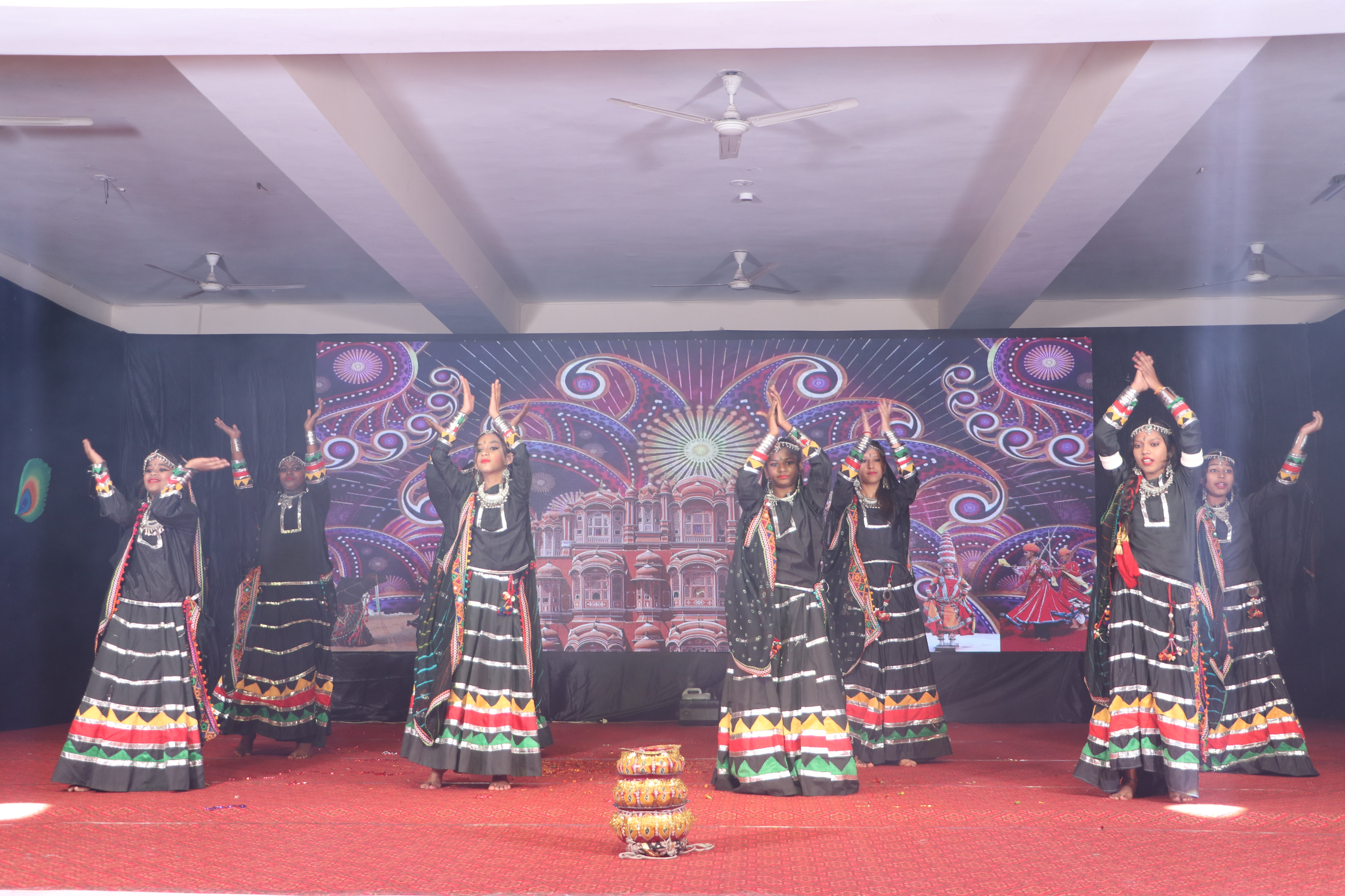 "Annual Function ""UTKARSH"" Rajasthani ""Kalbeliya"" Song"